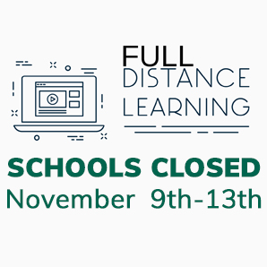Schools Closed November 9th-13th
