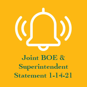 Joint BOE & Superintendent Statement 1-14-21