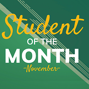 Student Of The Month - November